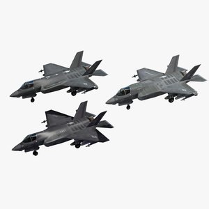 f-35 strike fighter 3D