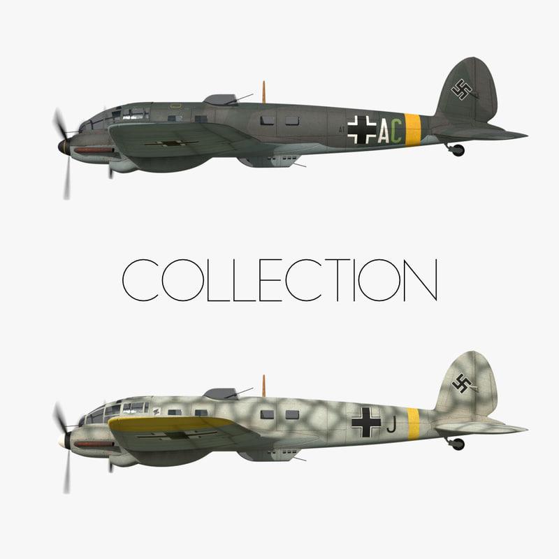 3D heinkel 111 - eastern