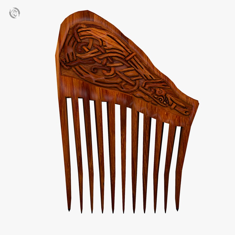 comb ornamental 3D model