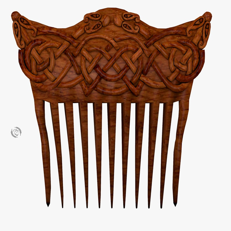 3D comb ornamental