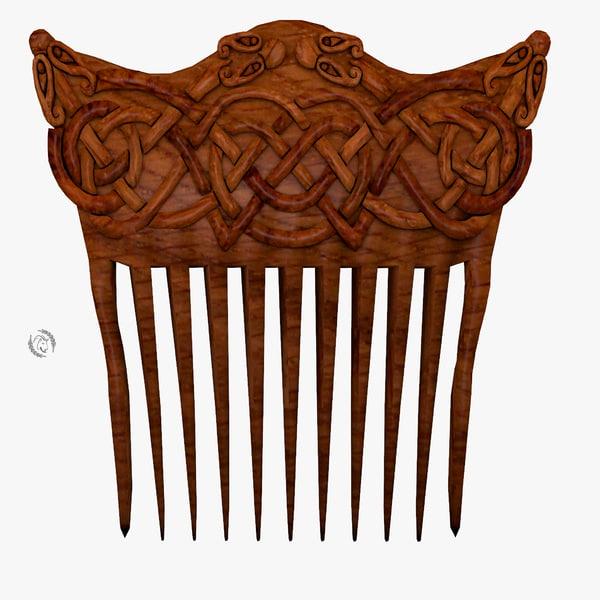3D comb ornamental