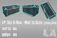 sci-fi box model