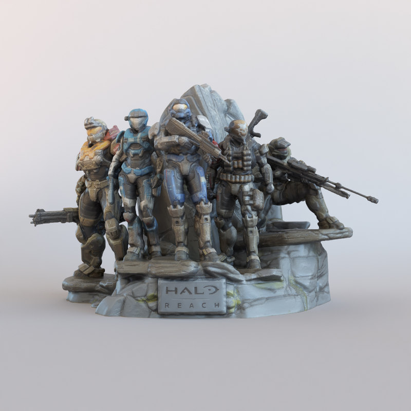 3D photogrammetry legendary reach model