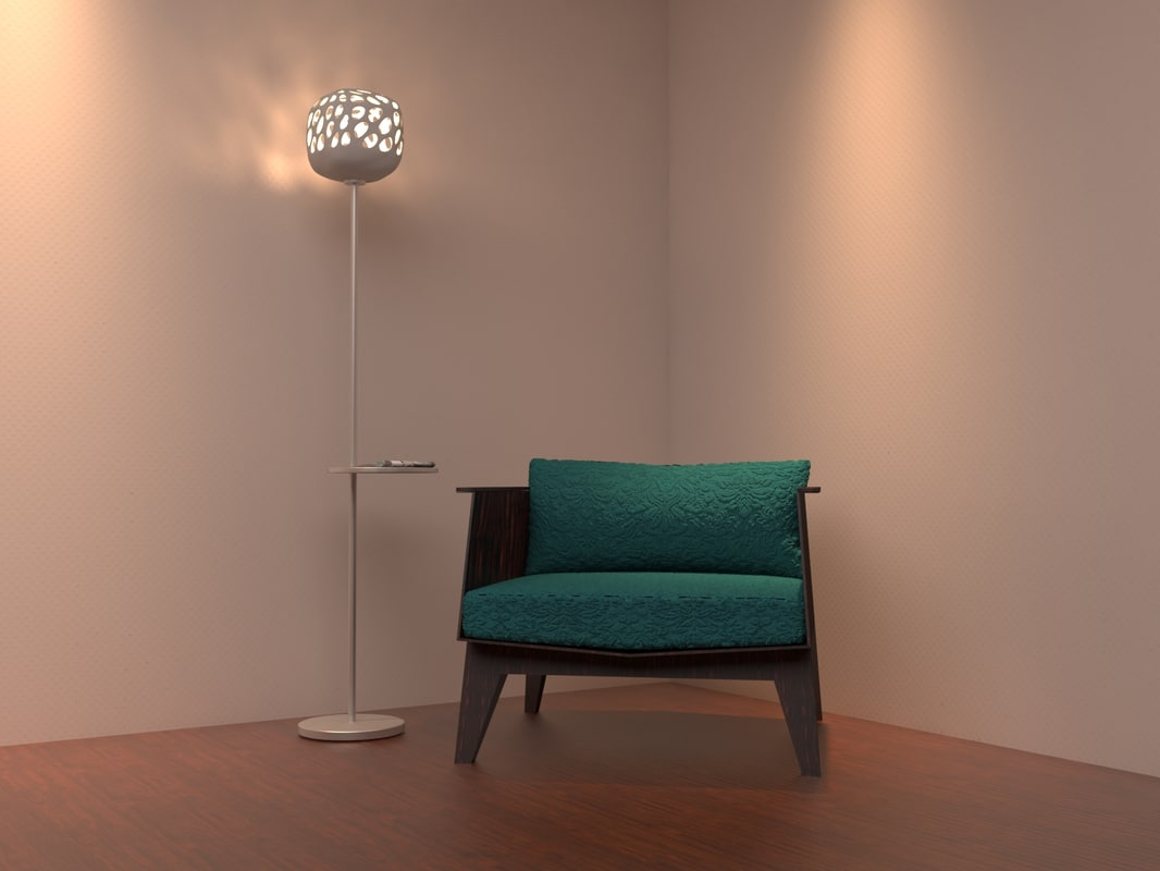 floor lamps - 11 3D model
