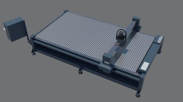 3D cnc router model
