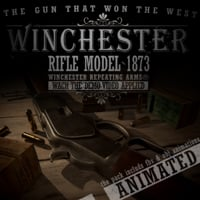 3D rifle 1873 winchester