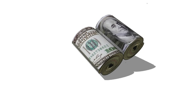 dollars money 3D model