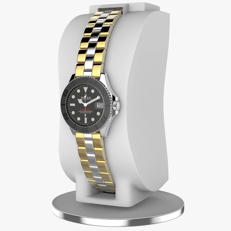 3D watch rolex yacht-master 37