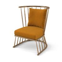 3D winsdor chair hamilton conte