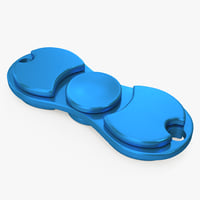 fidget toy hand spinner 3D