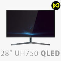 3D uh750 qled monitor