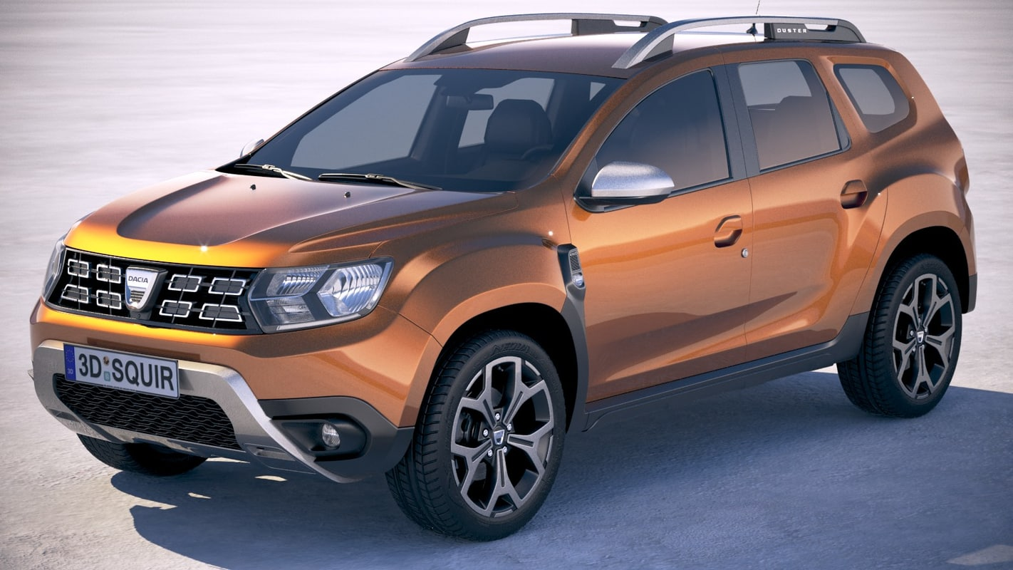 Dacia duster 2018 3d model turbosquid 1203657 for Interieur duster 2018