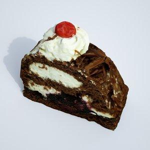 3D cake cream creamcake