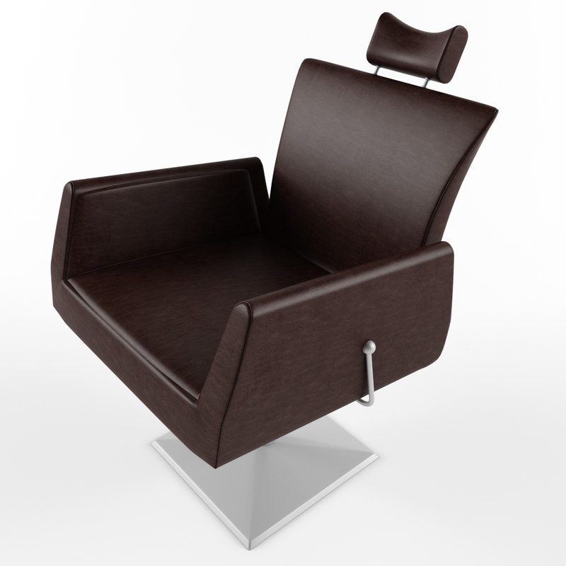 barbershop chair 3D model