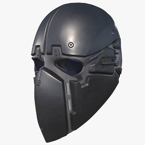 3D ronin tactical mask