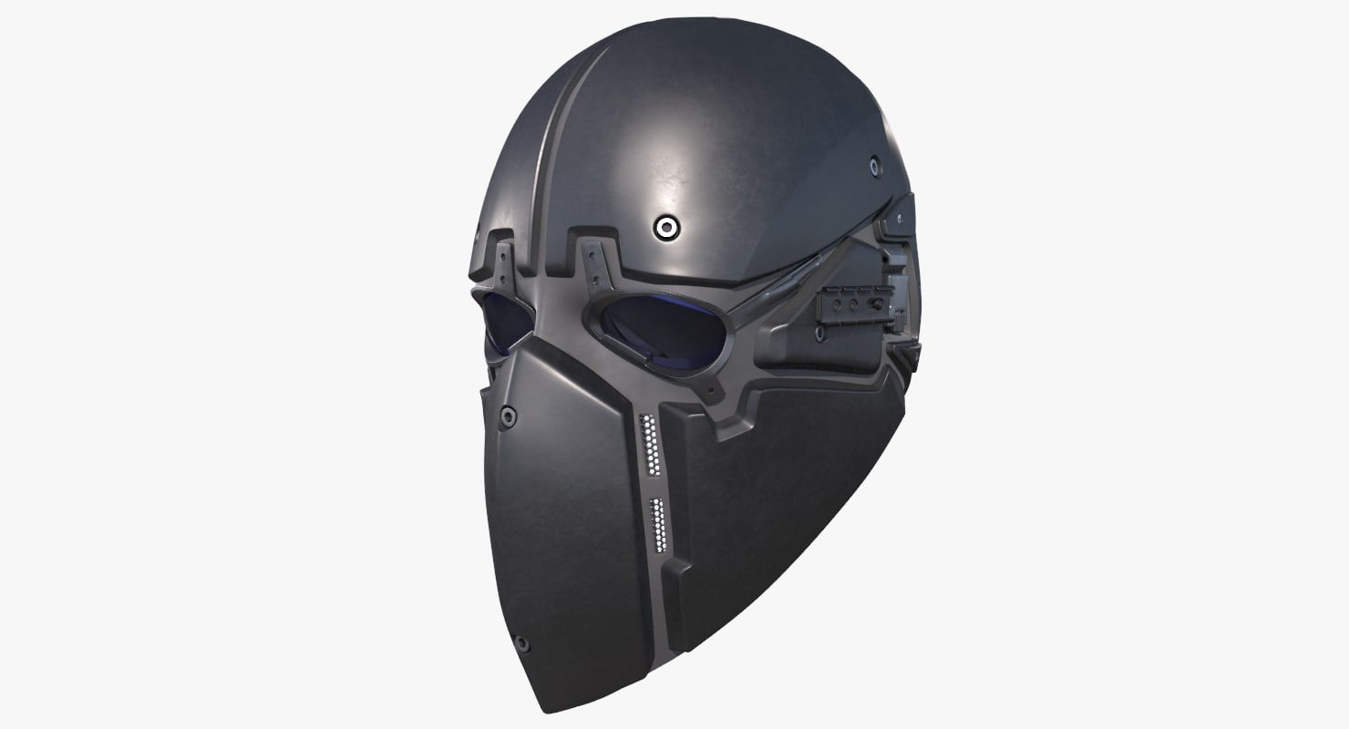 3D ronin tactical mask