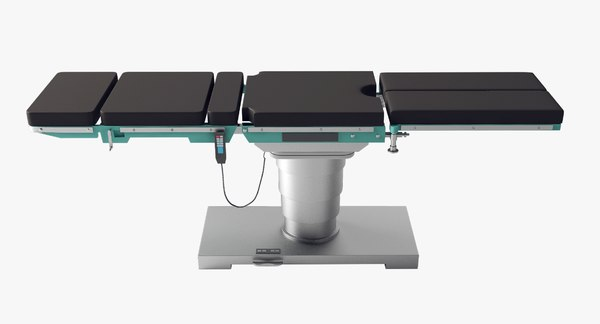 3D realistic operating table model