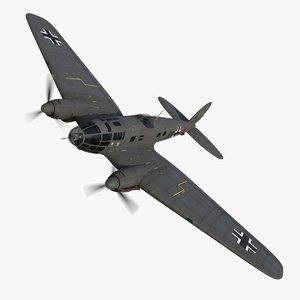 heinkel 111 bomber 6n model