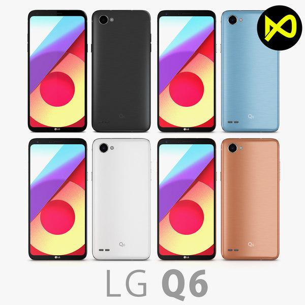 lg q6 3D