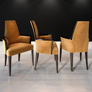 3D selva armchair art 1057