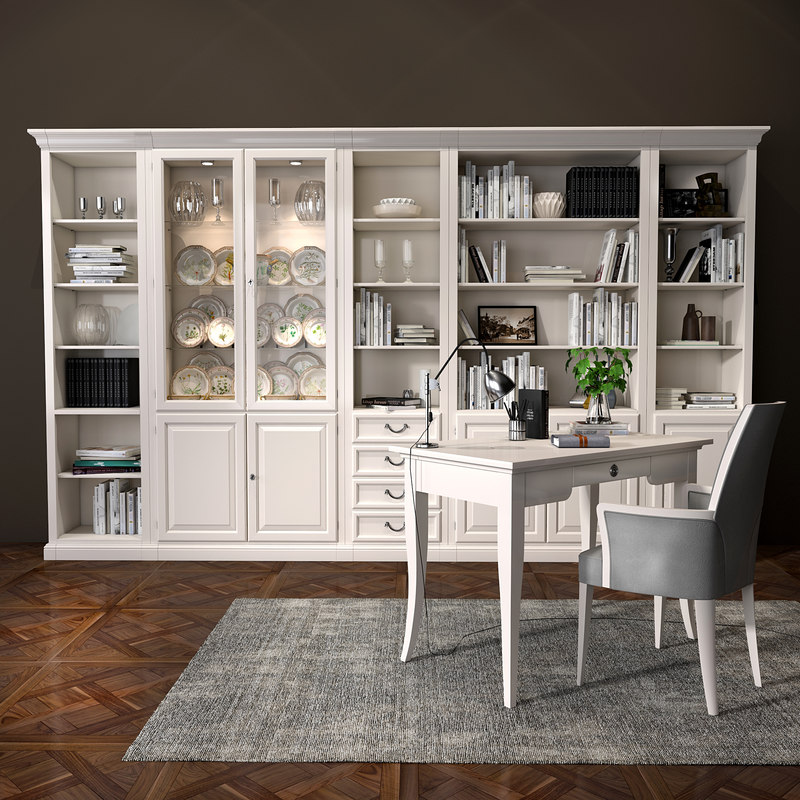 selva bookcase 3D model