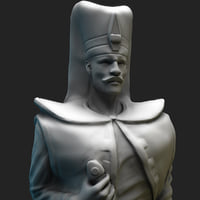 3D hd otoman soldier model
