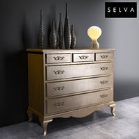 3D selva commode art 5640 model