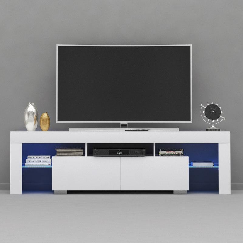 tv stand unit 3D
