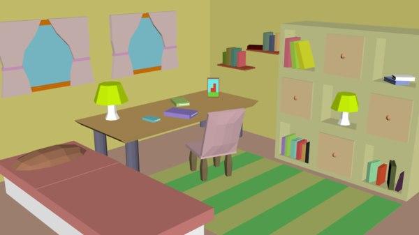 3D room pack 02 -
