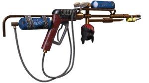 flamethrower flame 3D model