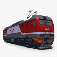 3D model ep2k locomotive