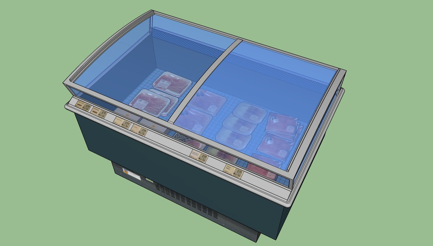 refrigerated cool 3D model