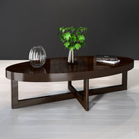 3D selva criss cross coffe table model