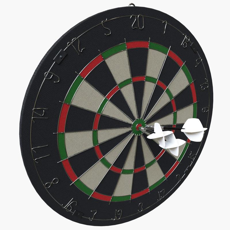 darts board model