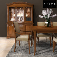 selva dining room set 3D model