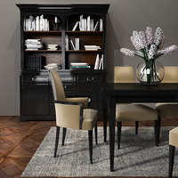 selva dining room set 3D model