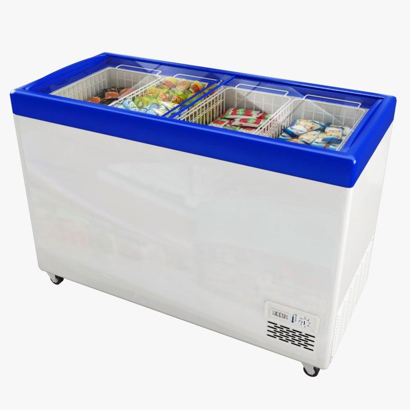 3D freezer ice cream