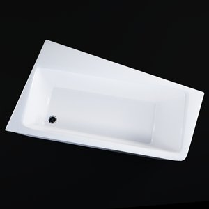3D bathtube 10 ravak model
