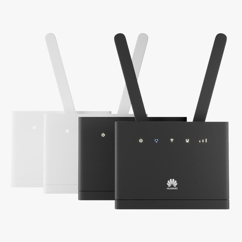 3D set router huawei b315
