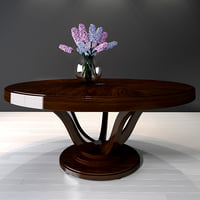 selva dining table victoria 3D model