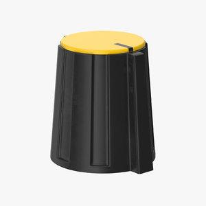 3D knob 02 36 model
