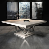 3D selva dining table waldorf