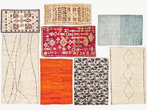 old vintage carpets moroccan model