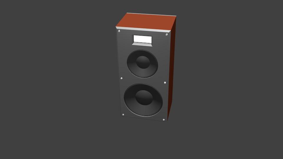 loud 3D model