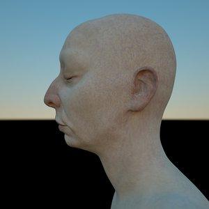 3D fusia mia sisters female head