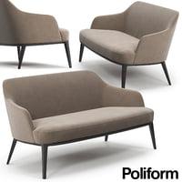 poliform jane sofa 3D