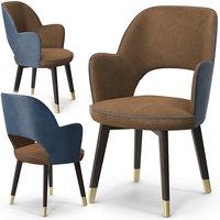 baxter colette chair armrest model