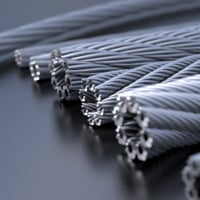 3D model stainless steel wires