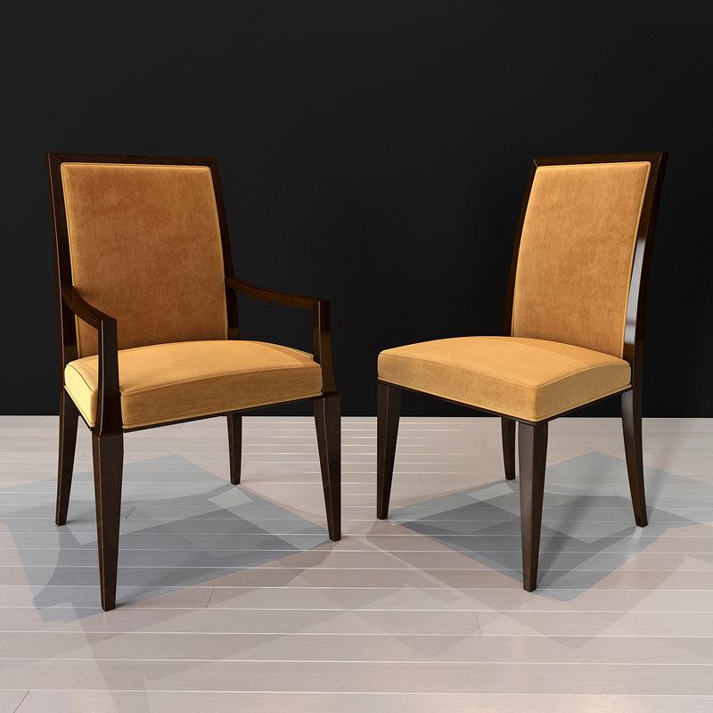 selva sophia chair 3D model