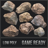Rock Pack 01 PBR